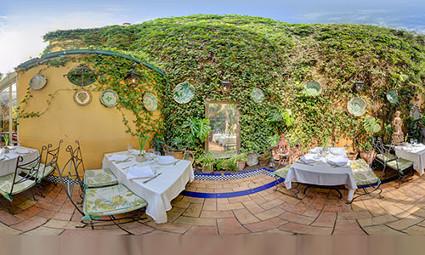 patio invierno restaurante sevilla