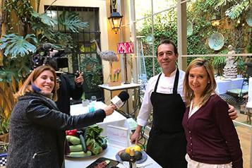 Nuestro jefe de cocina, Pepe Mateo, revela las claves de Manolo León