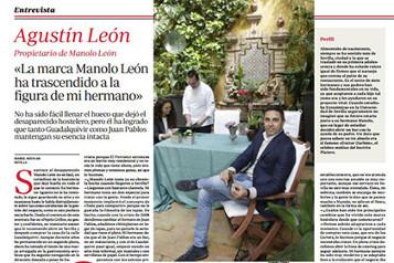 entrevista agustin manolo leon