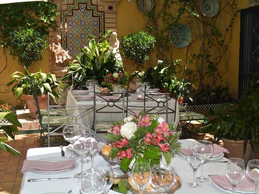 patio primavera restaurante sevilla