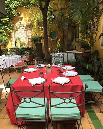 patio primavera restaurantes sevilla
