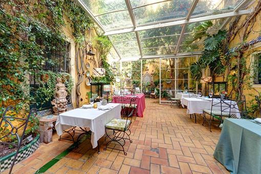 patio restaurantes sevilla