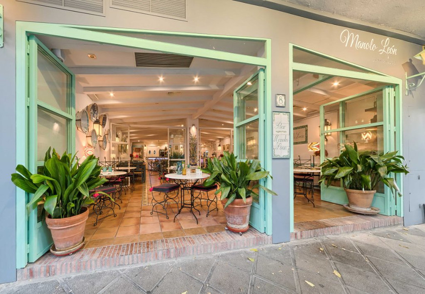 Juan pablos manolo le n restaurante en sevilla comer en sevilla - Casa manolo leon sevilla ...
