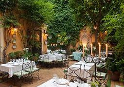 patios restaurantes sevilla