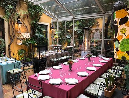 patio guadalquivir restaurante sevilla
