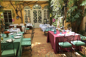 patio restaurantes sevilla
