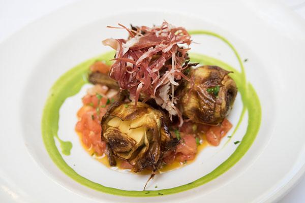 alcachofas restaurantes sevilla