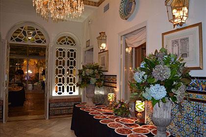 claraboya boda restaurantes sevilla
