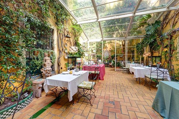 patio guadalquivir restaurantes sevilla