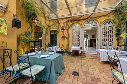 claraboya invernadero restaurantes sevilla