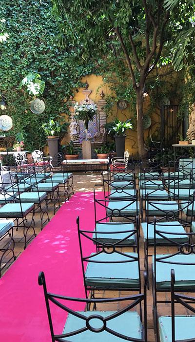 boda patio guadalquivir catering sevilla