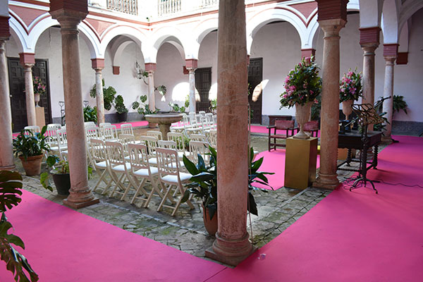 patio bucarelli catering sevilla