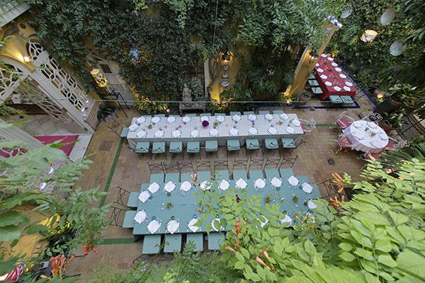 vista aerea eventos intimos restaurantes sevilla